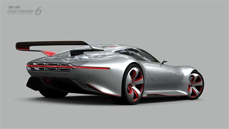 Mercedes-Benz AMG Vision Gran Turismo Unveiled as First in